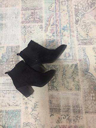 H&M Siyah Topuklu Bot