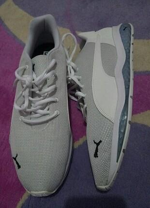 Puma Beyaz Spor Ayakkabı