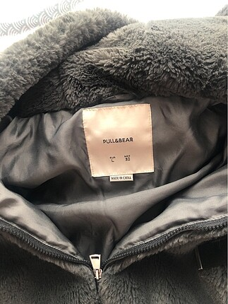 Pull and Bear Pull and bear peluş ceket
