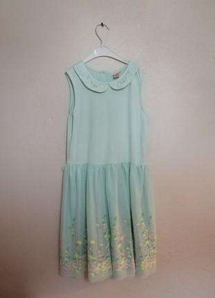 10-11 yaş çocuk elbise