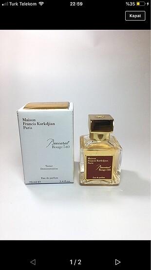 Kampanya sıfır kaliteli batc kodlu tester parfümler 70tl düştü k