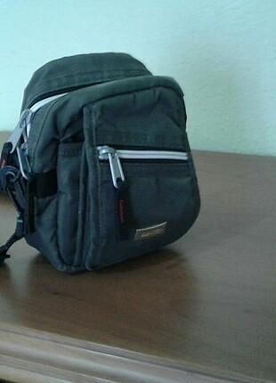 Haki rengi küçük çapraz çanta