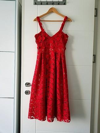 beymen kırmızı elbise