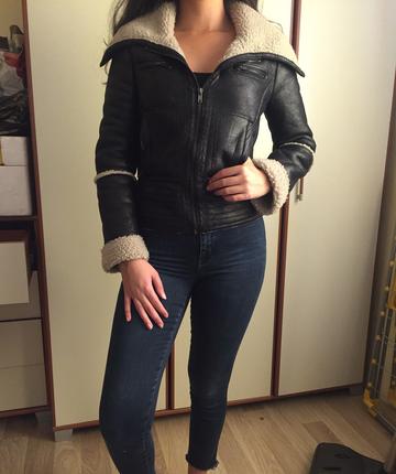 Mudo içi kürk ceket