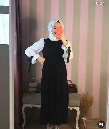 Kusakli elbise