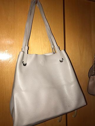 Diğer Gri çanta