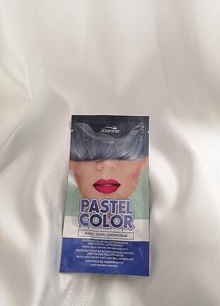 Mavi Pastel Saç Boyası