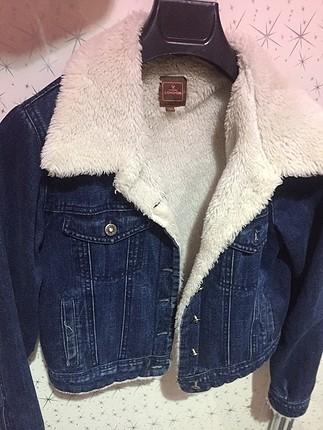 Y-London içi tüylü kot ceket