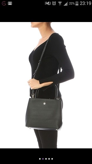 universal Beden siyah Renk orjinal beymen kol çantası