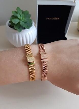 Pandora reflections bileklik Rose Gold