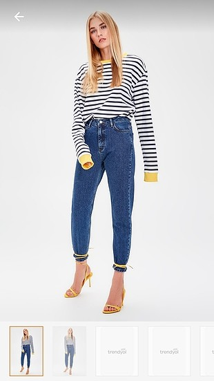 mom fit vintage jean