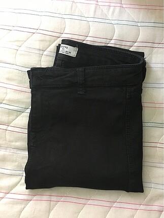 36 Beden Bershka Siyah Pantolon