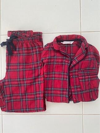 Bordo Takım pijama