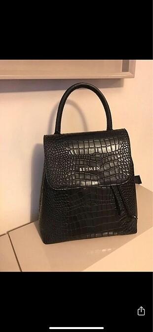 Beymen krokodil sırt çanta