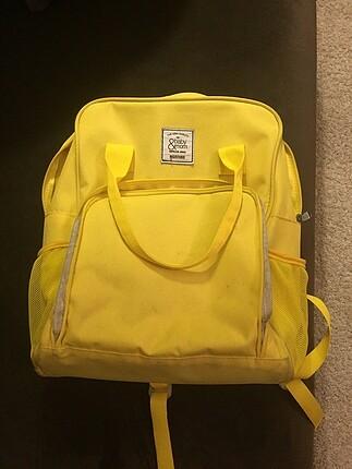 Sarı anne çantası