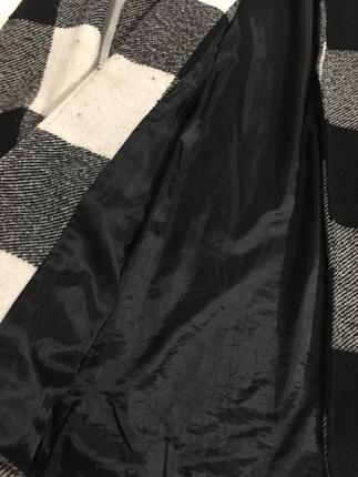 Kareli mevsimlik ceket