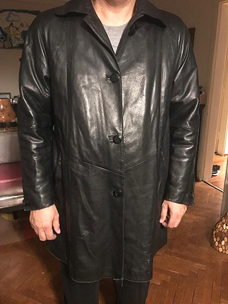 diğer Beden siyah Renk Vintage deri ceket
