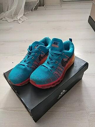 37 Beden Nike mavi ayakkabı