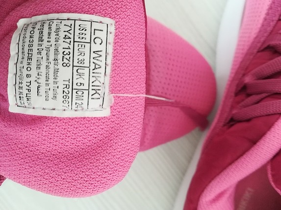 38 Beden lcw pempe spor ayakkabı