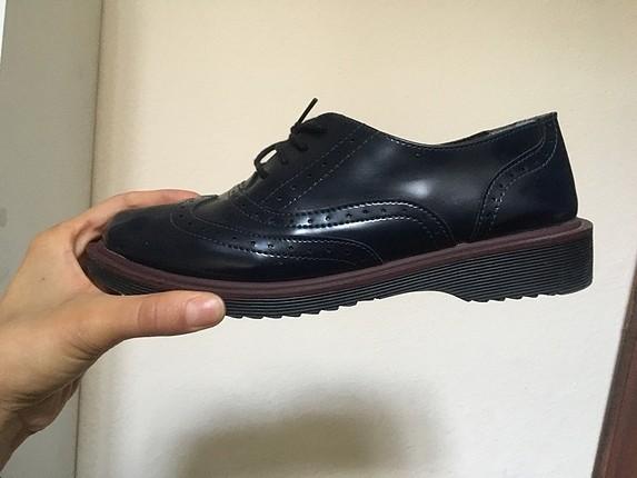 38 Beden lacivert Renk Oxford ayakkabı