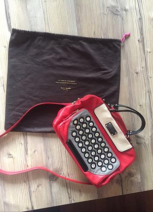 Kate Spade orijinal typwriter çanta