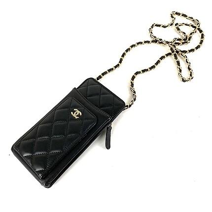 Beden siyah Renk Chanel telefonluk