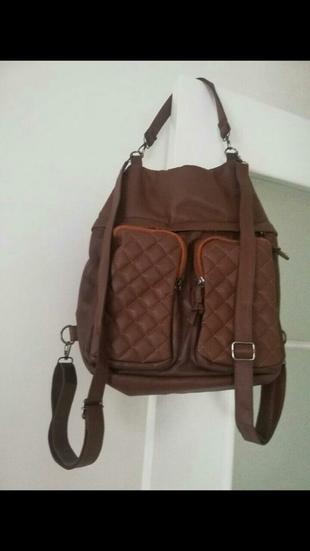 kol ve sırt çantası
