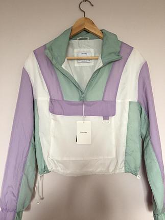 Kanguru cepli ceket (Bershka)