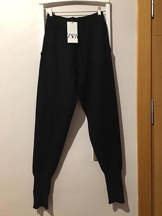 Örgü jogging pantolonu