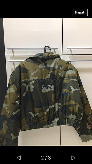 Kamuflaj ceket