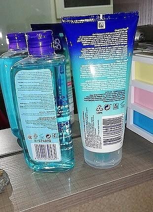 universal Beden Clean&Clear; Jel Temizleyici ve Losyon ikili set ve Epilatör