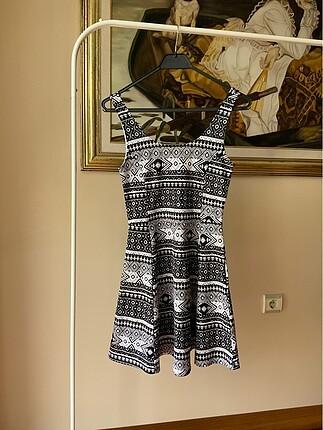 #h&m marka sorunsuz elbise
