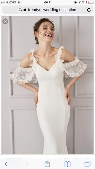Trendyolmilla Wedding Colection Trendyol Milla Uzun Elbise 100