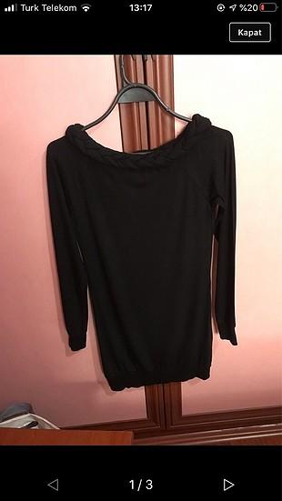 siyah mini elbise