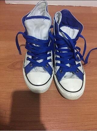 Converse beyaz mavi
