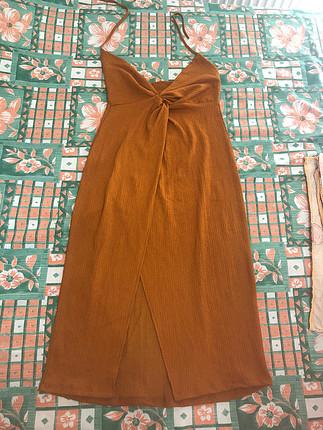 Hardal elbise