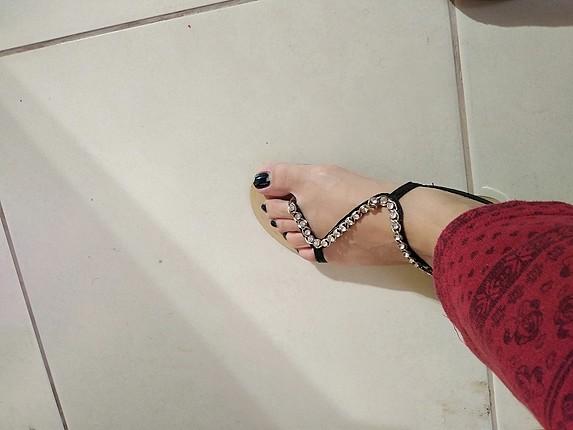 H&M sorunsuz sandalet
