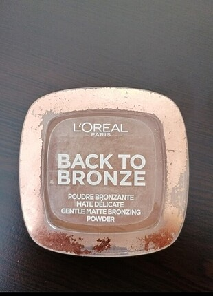 Back to bronze