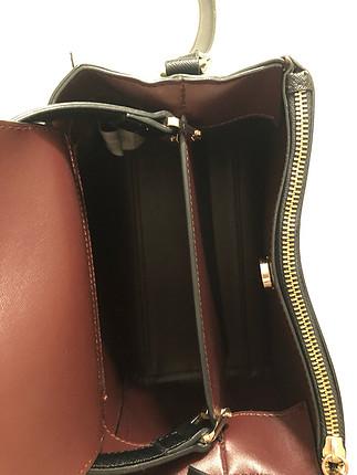 s Beden Zara siyah çanta
