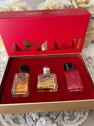 Gıorgıo Armani Parfüm Seti