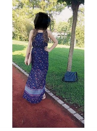 Hm uzun elbise