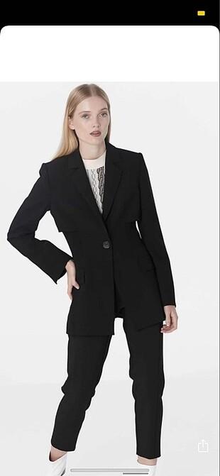 m Beden siyah Renk İpekyol şık blazer ceket