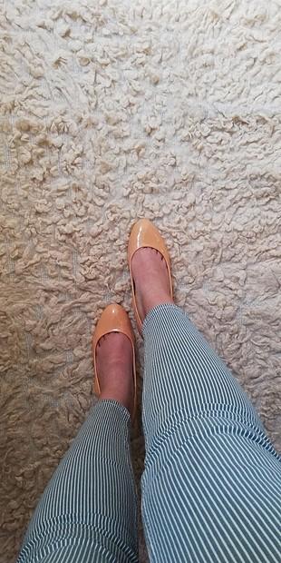 inci topuklu ayakkabı