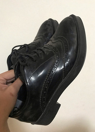 maskulen oxford rugan ayakkabı