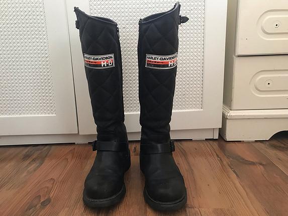 Harley Davidson Siyah Çizme