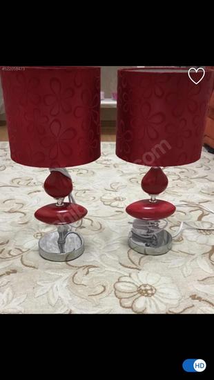 Kırmızı abajur