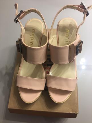Marjin pudra ayakkabı