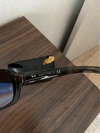 Beden kahverengi Renk Ray ban kemik güneş gözlüğü
