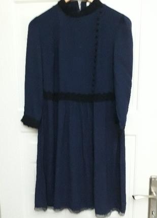 koton lavivert elbise