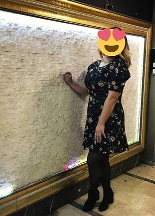 Trendyol & Milla Çiçekli elbise trendyol
